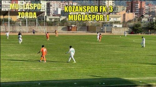 MUĞLASPOR KOZANSPOR'A DA KAYBETTİ