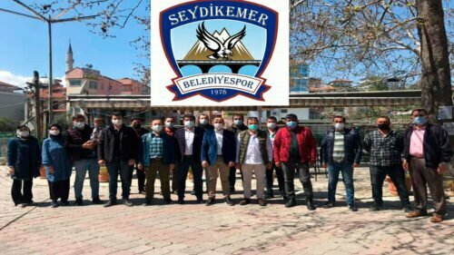 SEYDİKEMER BELEDİYESPOR'DA GENEL KURUL YAPILDI, HASAN KÖYMEN YENİDEN BAŞKAN